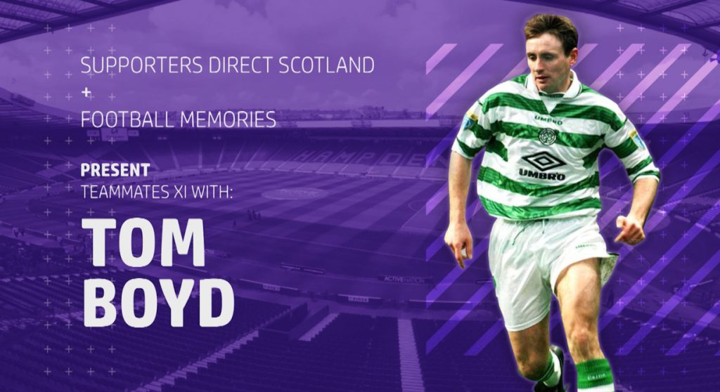 Football Memories with Tom Boyd