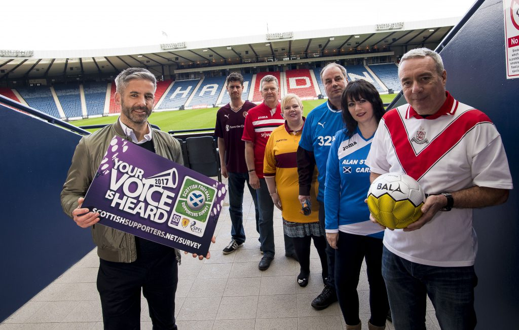 SD Scotland Launch 2017 Scottish Football Supporters Survey