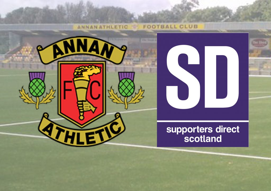 Annan Athletic and SD Scotland