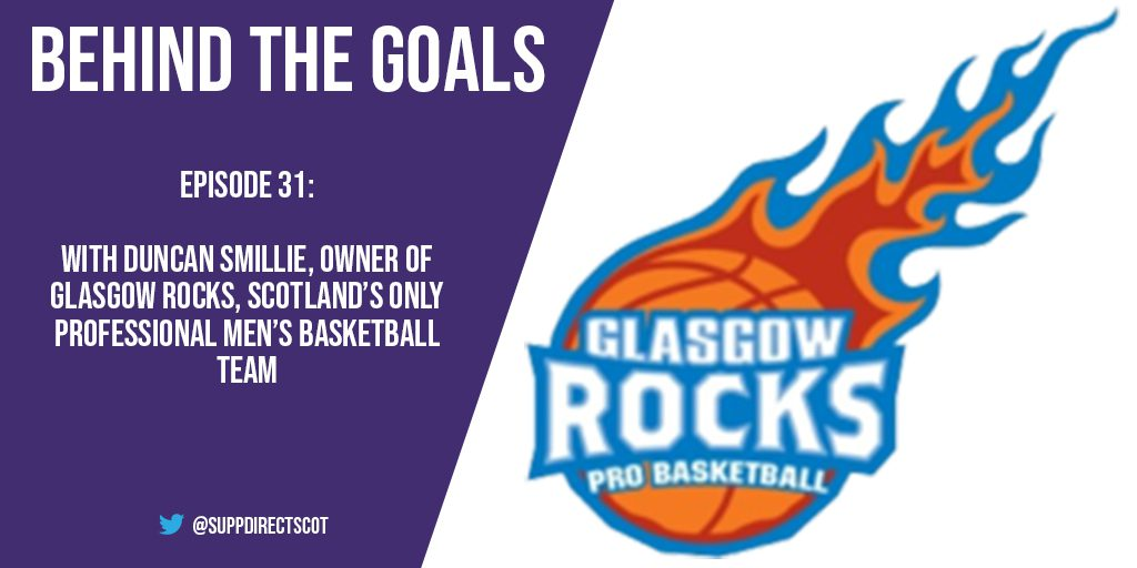 Behind the Goals – Duncan Smillie of Glasgow Rocks