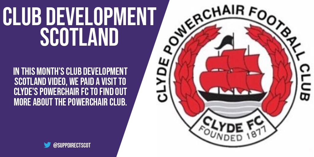 Club Development Scotland visits Clyde Powerchair FC
