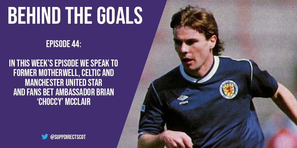 Behind the Goals – Brian McClair