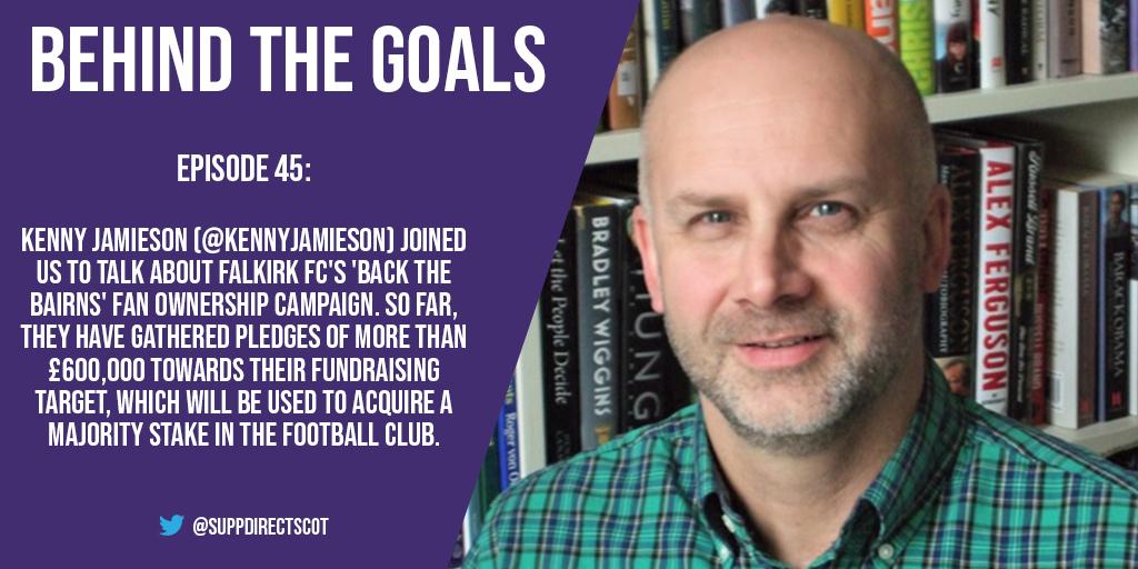 Behind the Goals – Kenny Jamieson